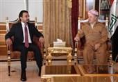 عراق|دیدار حلبوسی با بارزانی در اربیل/ حزب الدعوه از کنار گذاشتن تمام اختلافات خبر داد