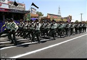 اقتدار نیروهای مسلح در کاشان به نمایش درآمد+تصاویر