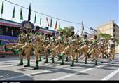 رژه نیروهای مسلح استان لرستان به روایت تصویر