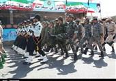 رژه مقتدرانه نیروهای مسلح در سیستان و بلوچستان بهروایت تصویر