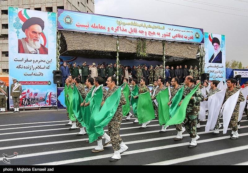 مراسم رژه نیروهای مسلح در ارومیه