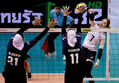 Iran to Play Australia at AVC Cup for Women 7th Place