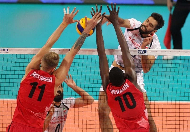 Iran Beaten by Canada in Five-set Thriller in World Championship