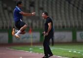 بهزاد غلامپور: مقابل نفت مسجدسلیمان دو نیمه متفاوت داشتیم/ در تمام بازیها شادیام را با دایی تقسیم میکنم