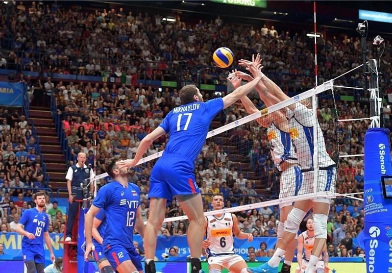گزارش خبرنگار اعزامی تسنیم از بلغارستان روسیه نخستین شکست ایتالیا را رقم زد/ ایران از صعود باز ماند