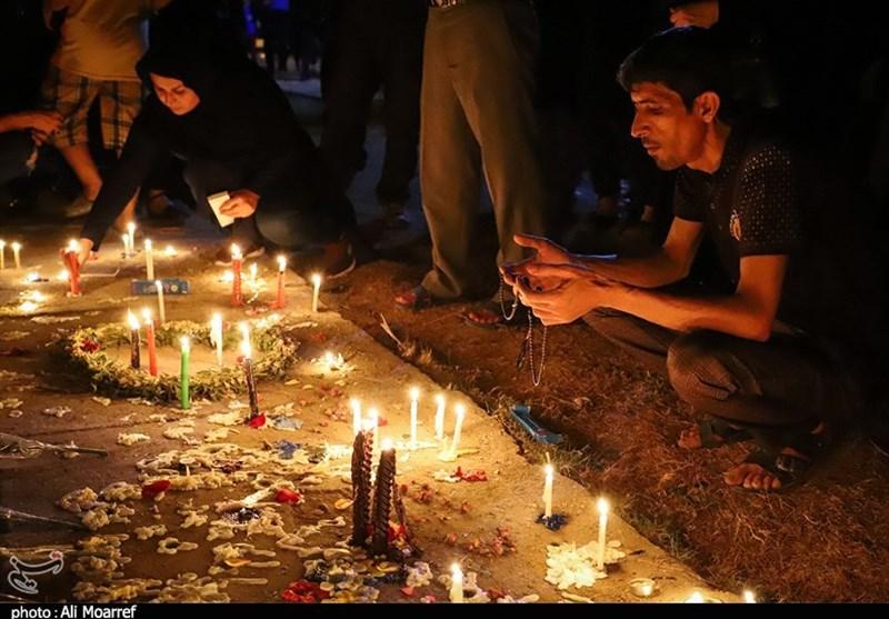 اهواز| سوگواری مردم در محل حادثه تروریستی به روایت تصویر