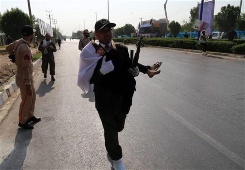 هجوم ارهابی یستهدف مراسم الاستعراض العسکری فی اهواز+ فیدیو