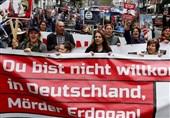 برگزاری اعتراضات علیه سیاستهای اردوغان در شهرهای آلمان