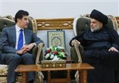 عراق| مقتدی صدر به بارزانی چه گفت؟/ حزب دموکرات نامزد خود برای ریاستجمهوری را معرفی کرد