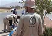 فارس| 8 گروه جهادی به مناطق روستایی و حاشیهای زرقان اعزام شدند