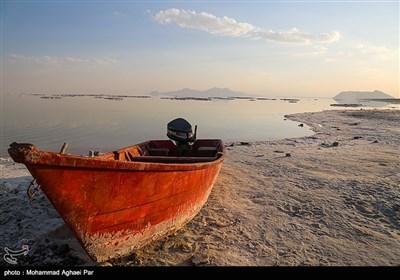 دریاچه ارومیه در آخرین روزهای تابستان