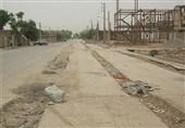 خطکشی خیابانها در کرمانشاه وضعیت مناسبی ندارد