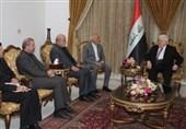 عراق| دیدار مسجدی با معصوم؛ تاکید بر لزوم گسترش روابط تهران-بغداد در تمام زمینهها