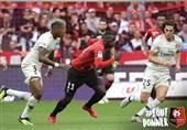 فوتبال جهان| تداوم صدرنشینی پاریسنژرمن با برتری در خانه رن