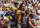 فوتبال جهان| شکست رم برابر بولونیا در روز پیروزی لاتزیو مقابل جنوا