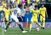 فوتبال جهان  والنسیای 10 نفره یک امتیاز از ویارئال گرفت