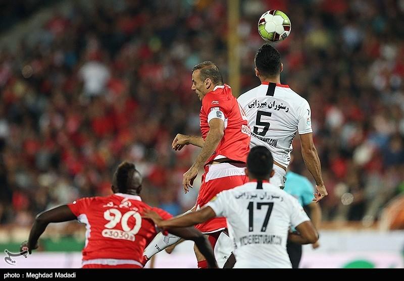 جام حذفی فوتبال| تساوی یکنیمهای پرسپولیس و نود ارومیه