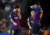 فوتبال جهان| بارسلونا 10 نفره شد و سرانجام امتیاز از دست داد