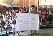 پیام تسلیت کودکان پناهجوی روهینگیا برای شهدای حمله تروریستی اهواز؛ «طاها، برادر و دوست ما است»