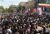 Massive Funeral Procession Starts in Iran's Ahvaz for Victims of Terror Attack