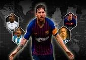 فوتبال جهان  لژیونرهای رکورددار بازی در لالیگای اسپانیا