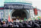 گزارش خبرنگار اعزامی به کربلا | پیمایش کاروان عظیم بانوان بنیاسد بسوی حرم امام حسین(ع) + تصاویر