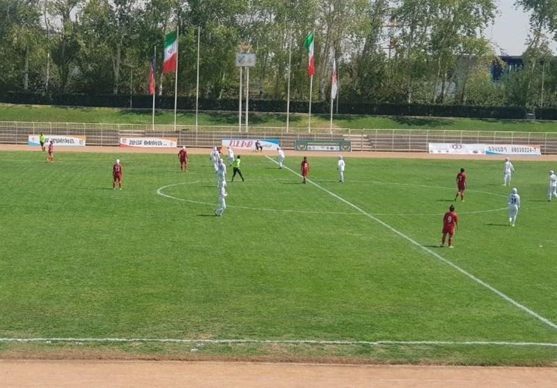 تورنمنت کافا| برتری تیم فوتبال بانوان ایران مقابل تاجیکستان
