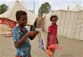 Yemeni internally displaced people fled their home in Hudaydah