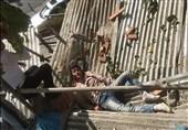 سقوط کارگر ساختمانی از ارتفاع در امیرآباد شمالی + تصاویر