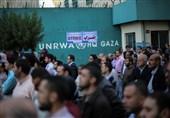 فلسطین| اعتصاب فراگیر موسسات «آنروا» در غزه/ تشدید اقدامات اشغالگران قدس علیه اسیران