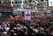 خوزستان| آیین وداع با شهید حادثه تروریستی اهواز در شوشتر برگزار می شود