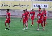 گزارش تمرین پرسپولیس|حسودی بازیکنان به سید جلال و شعار علیه استقلال / طعنه کریم باقری به آدام همتی + عکس