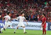 فوتبال زیر 16 سال قهرمانی آسیا|تساوی اندونزی و ویتنام با تداوم قعرنشینی ایران