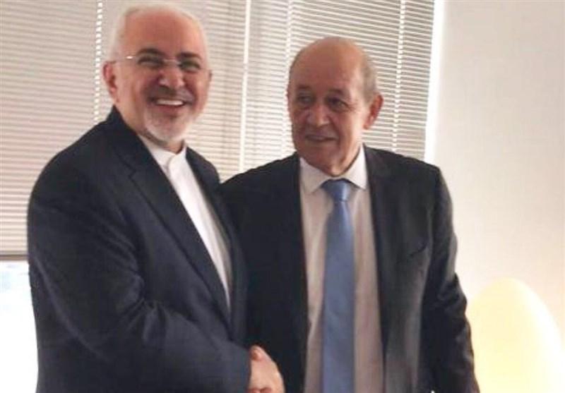 وزیرا خارجیة ایران وفرنسا یتباحثان بشأن الاتفاق النووی