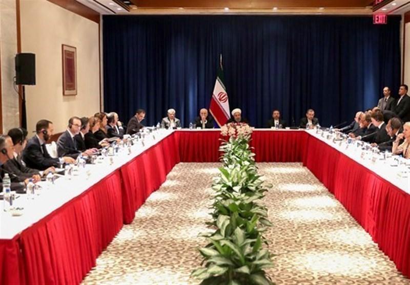 روحانی: على ترامب تدارک الاجراءات الخاطئة ضد الشعب الایرانی