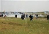 فلسطین| حمله دریایی رژیم صهیونیستی به تظاهرات مردم غزه/ یک فلسطینی شهید و دهها نفر زخمی شدند