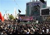 خوزستان| 3 تن از شهدای تروریستی اهواز در شهرستان باغملک تشییع شد