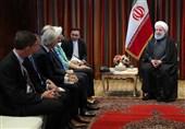 روحانی: المسؤولیة الرئیسیة لصندوق النقد الدولی دعم اعضائه لمواجهة العقوبات المصرفیة