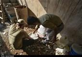 گوشهای از فعالیت گروه جهادی راسخون در مناطق محروم اهواز