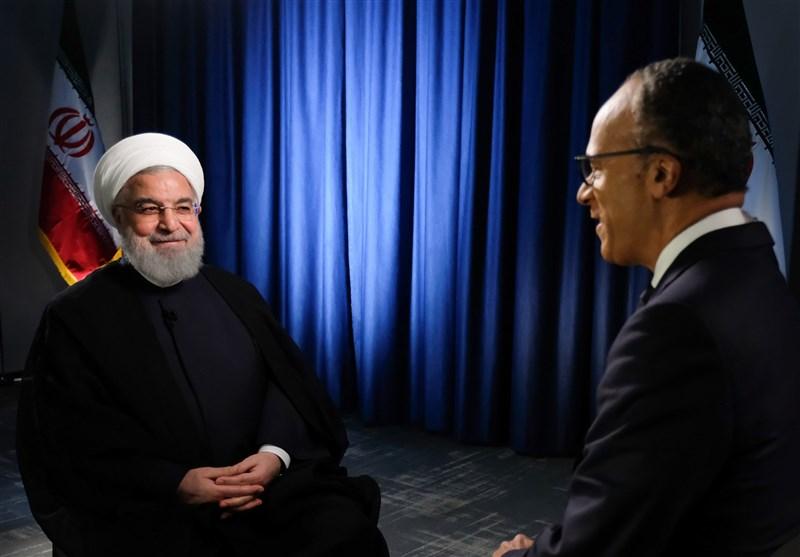 روحانی در گفتوگو با NBC: برنامهای برای دیدار با ترامپ ندارم/ آمریکا قادر نیست صدور نفت ایران را به صفر برساند