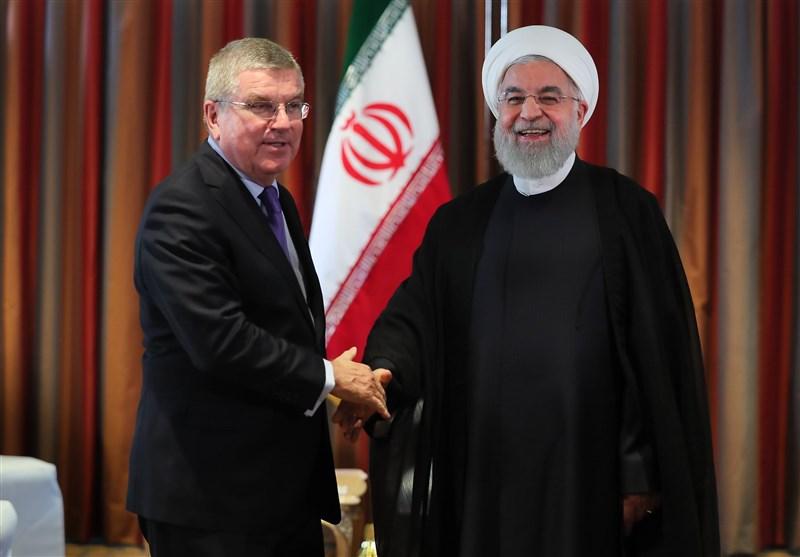 روحانی: همواره حامی ورزش و ورزشکاران کشورمان هستیم