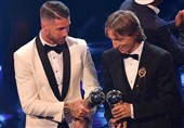 فوتبال جهان| 2 اسطوره رئال مادرید، مودریچ را برای دریافت توپ طلا همراهی میکنند