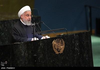 روحانی در سازمان ملل: آمریکا پنهان نمیکند که در ایران بهدنبال براندازی است/ تحریمها مردم ایران را هدف قرار داده/هر مذاکرهای باید در تداوم برجام باشد