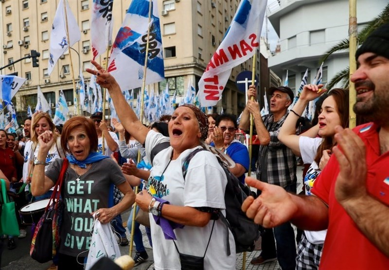 Thousands Protest in Buenos Aires against Austerity Policies
