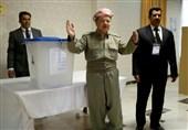 گزارش تسنیم| یکسالگی همهپرسی کردستان عراق و خانه نشینی بارزانی؛ روابط اربیل - بغداد در پسا رفراندوم