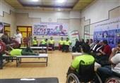بازدید محسن هاشمی از اردوی تیمهای وزنهبرداری و تنیس روی میز معلولان + تصاویر
