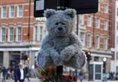 سرفه خرسهای عروسکی در خیابانهای لندن + فیلم
