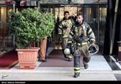آتش سوزی در هتل لاله