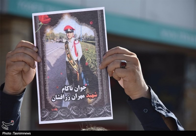 خوزستان| تشییع پیکر مطهر 2 شهید مسجدسلیمانی حادثه تروریستی اهواز به روایت تصویر
