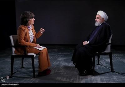 دکتر روحانی در مصاحبه با شبکه های تلویزیونی CNN و PBS آمریکا